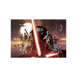 Fototapete KOMAR, STAR WARS EP7 COLLAGE, 8 Teile, BxH 368 x 254 cm