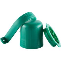ABENA® SprayWash Tablet Kit Behälter, Farbbehälter für SprayWash Tabs, Farbe: grün