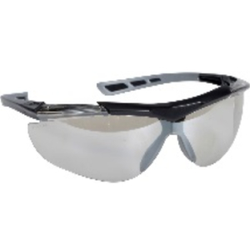 Thor Reflector Schutzbrille, Augenschutzbrille im modernen Design, 1 Stück, klar