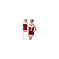 Christmas Kleid mit Strass