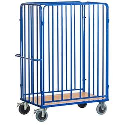 Rollcart Paketwagen blau 100,0 x 64,0 cm bis 600,0 kg