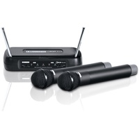 LD SYSTEMS ECO 2 Funkmikrofon System mit 2 x Handmikrofon