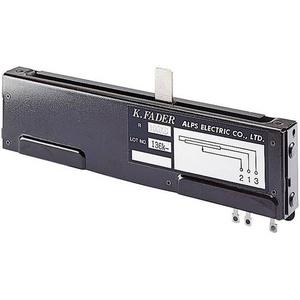 ALPS 193743 Studio-Fader 100kΩ Mono 0.5W linear 1St.
