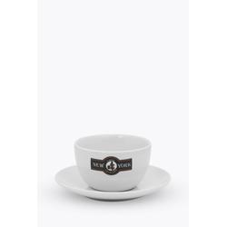 New York Milchkaffeetasse Beige