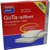Gothaplast GoTa Wundpflaster silber steril 10 x 6 cm 5 St.