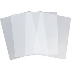 Tischset 4-teilig PP transparent farblos - Tischunterlagen