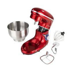 GOURMETmaxx Küchenmaschine Küchenmaschine zum Kneten & Rühren, 1500W rot