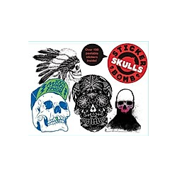 Stickerbomb Skulls - Buch