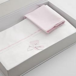 Nanan Coccolo Pink Bettlaken Set 3St