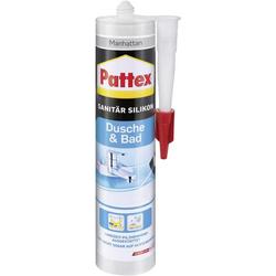 Pattex Dusche & Bad Silikon Herstellerfarbe Manhatten PFDBM 300ml