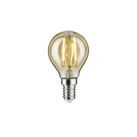 LED Vintage Tropfen E14/ 2W gold ¦ Maße (cm): H: 7,8 Ø: [4.5]