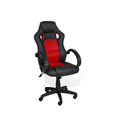 KESSER Schreibtischstuhl, Bürosessel Chefbürostuhl Sportsitz Racing Schreibtischstuhl Drehstuhl rot