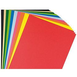 Fotokarton, bunt, 21 x 29,7 cm, 50 Blatt