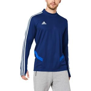 adidas Herren TIRO19 TR TOP Sweatshirt, Dark Blue/Bold Blue/White, S