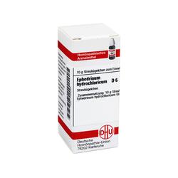 EPHEDRINUM hydrochloricum D 6 Globuli 10 Gramm