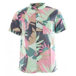 QUIKSILVER TROPICAL FLOW Hemd 2020 beach glass tropical floral - XL