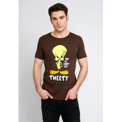 LOGOSHIRT T-Shirt mit Tweety-Frontprint bunt XL