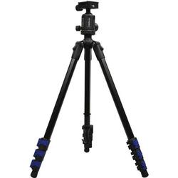 Hähnel Fototechnik Triad 40 Lite Dreibeinstativ 1/4 Zoll Arbeitshöhe=25 - 153cm Schwarz