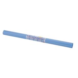 Folia Transparentpapier Transparentpapier Extra stark, 70 cm x 50 cm blau