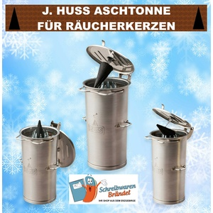 Jürgen Huss Aschtonne Räucherofen Räuchertonne Neudorfer Aschtonn Räucherkerzen