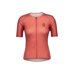 Scott Radtrikot Scott Fahrradshirt Damen RC Premium Climber s/sl rot M