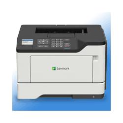 Lexmark MS521DN Mono-Laserdrucker A4, LAN, USB inkl. UHG