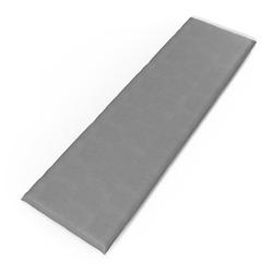 Vicco Bankauflage 140x40x5cm Bankpolster Gartenbank-Auflage Sitzpolster Auflage grau 140 cm