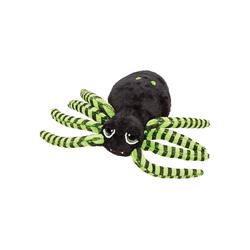 Teddys Rothenburg Kuscheltier Spinne klein schwarz-grün 20 cm (Breite) (Plüschspinne Stoffspinne Vogelspinne, Stofftiere Spinnen Plüschtiere)