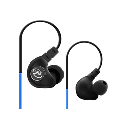 deleyCON SOUNDSTERS S19 - In-Ear Sport Kopfhörer mit Bügel für alle Mobilgeräte - Blau Kopfhörer