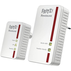 »FRITZ!Powerline 540E WLAN Set« weiß, AVM, 5.9x13.2x4.1 cm