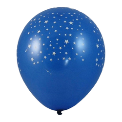 Luftballons 'Sterne' Ø 300 mm, Größe 'L', 100 Stk.