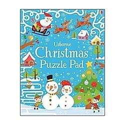 Christmas Puzzles Pad. Simon Tudhope  - Buch