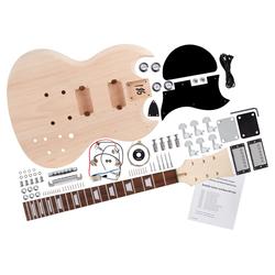 Rocktile E-Gitarren Bausatz Double Cut-Style