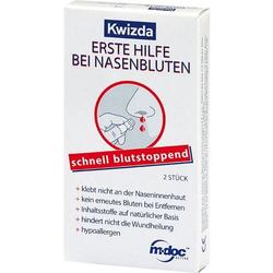 KWIZDA Erste Hilfe bei Nasenbluten Nasenstöpsel 2 St