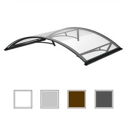 Vordach, Vordächer, Pultvordach, Haustür-Überdachung, Terassenüberdachung in vielen Farben und Formen, weiss, braun, anthrazit