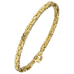 JOBO Armband, Königsarmband 333 Gold 19 cm