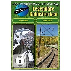Legendäre Bahnstrecken - Bergensbanen / Circum Baikal - DVD  Filme