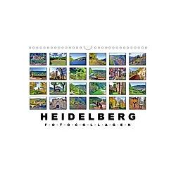 Heidelberg Fotocollagen (Wandkalender 2021 DIN A4 quer)