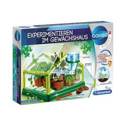 Clementoni® Lernspielzeug Galileo - Experimentieren im Gewächshaus