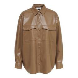 ONLY Oversized Shirt Damen Beige Female L