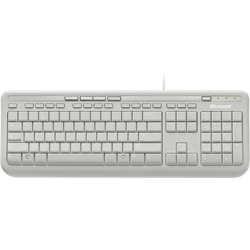 Microsoft Wired Keyboard 600 Tastatur weiß