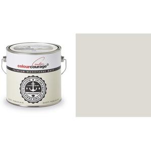 2,5 Liter Colourcourage Premium Wandfarbe Dusty Porcelain Gelb Hellgelb | L709449561 | geruchslos | tropf- und spritzgehemmt