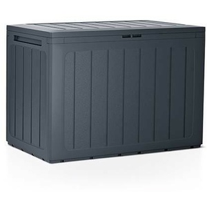 Kissenbox Gartenbox Auflagenbox Box Gartentruhe Boardebox Anthrazit Umbra
