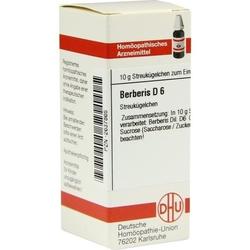 BERBERIS D 6 Globuli 10 g