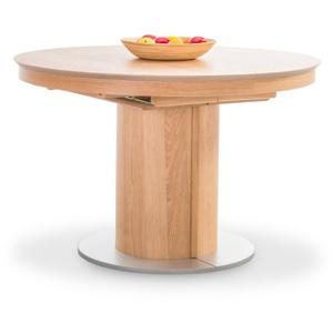Esstisch rund - ausziehbar braun 4084233 (DH 120x76 cm)