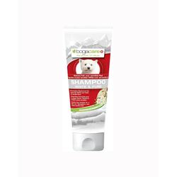 Bogar Pfelge für Hunde - Haut- und Fellpflege Bogacare SHAMPOO WHITE & PURE 6x 200 ml