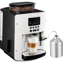 Krups Kaffeevollautomat EA8161, 1,8l Tank, Kegelmahlwerk, Kaffeevollautomat, 579929-0 weiß weiß