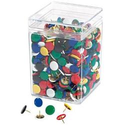Reißnagel farbig sortiert VE=750 Stück undurchdrückbar