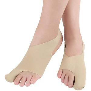 Healifty Frau Toe Glätteisen 1 Paar Toe Thumb Glätteisen Hautfreundliche Übung Toe Appliance Einteilige Hallux Valgus Protector (Khaki Größe S)