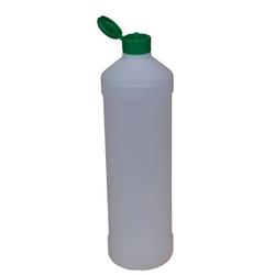 Leerflasche PE-Kunststoff 1 L Dosierhilfe Grün